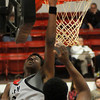 NOC-Enid Jets' Corey Alpough scores against Murray State Saturday, Feb. 15, 2014. (Staff Photo by BONNIE VCULEK)