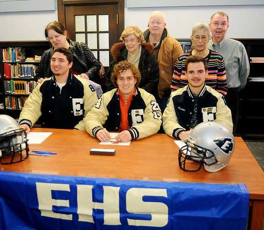 National Signing Day at Enid High School (Staff Photo by BONNIE VCULEK)