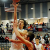 Chisholm's Bryson Rolfe scores against Watonga Friday, Feb. 14, 2014. (Staff Photo by BONNIE VCULEK)