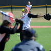 NOC Enid's Kendra Coleman pitches during the Lady Jets' double-header at David Allen Memorial Ballpark Friday, Feb. 28, 2014. (Staff Photo by BONNIE VCULEK)