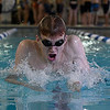 Enid's Blake Highberger swims during practice Wednesday February 1, 2017 at the Denny Price Family YMCA. (Billy Hefton / Enid News & Eagle)