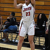NOC Enid's Tanara Combs shoots a three point shot against Connors State Monday February 19, 2018 at the NOC Mabee Center. (Billy Hefton / Enid News & Eagle)