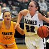 Class A Area Playoffs Garber vs Canute Girls