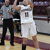 Pawnee's Crystal De La Torre shoots against Pawnee during an elimination game in the class 2A regional tournament Friday Feb. 22, 2019 at Pioneer High School. (Billy Hefton / Enid News & Eagle)