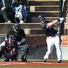 NOC Enid's Alec Buonasera hits a three run home run against NE Nebraska Saturday, February 1, 2020 at David Allen Memorial Ballpark. (Billy Hefton / Enid News & Eagle)