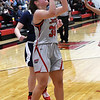 NOC Enid's Madelyn Hankins puts up a shot against Seminole Monday, February 3, 2020 at the NOC Mabee Center. (Billy Hefton / Enid news & Eagle)