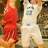 Enid's Braden Rogers pulls up for two against Ponca City at the Enid Event Center Friday, Jan. 17, 2014. (Staff Photo by BONNIE VCULEK)