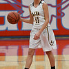 Alva's Payton Jones brings the ball upcourt against Fairview during the semi-finals of the Wheat Capital Basketball Tournament Friday January 6, 2017 at Chisholm High School. (Billy Hefton / Enid News & Eagle)