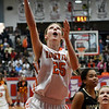 Fairview's Lexie Reihm scored a basket against Woodward during the finals of the Wheat Capital Basketball Tournament Saturday January 7, 2017 at Chisholm High School. (Billy Hefton / Enid News & Eagle)