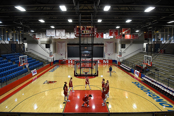 Paul J. Outhier Fieldhouse at Chisholm High School. (Billy Hefton / Enid News & Eagle)