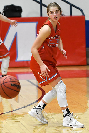 Chisholm's Briley Yunker during practice Wednesday January 9, 2019 at Chisholm High School. (Billy Hefton / Enid News & Eagle)
