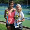 Savannah Blasi and Gabrielle Dick (Staff Photo by BONNIE VCULEK)