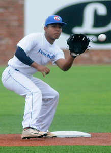 OKC Athletics' Nick Smith (Staff Photo by BONNIE VCULEK)