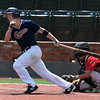 Tanner Bare of the Oklahoma Expos bats against the SW Shockers Black during the Connie Mack Regional Qualifing Tournament Friday June 15, 2018 at David Allen Memorial Ballpark. (Billy Hefton / Enid News & Eagle)