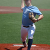 Enid Plainsmen's Seth Carlson delivers a pitch against Wichita Grays during the Connie Mack Regional Qaulifier Tournament Thursday, June 17, 2021 at David Allen Memorial Ballpark. (Billy Hefton / Enid News & Eagle)