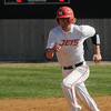 NOC Enid's Korbin Polston sprints to third and scores as the Jets break the 2-2 tie with Northeastern Oklahoma A&M College at Failing Park Saturday, March 30, 2013. (Staff Photo by BONNIE VCULEK)