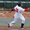 NOC Enid's Carlos Andujar hits a home run against Butler Communty College Wednesday March 30, 2016 at David Allen Ballpark. (Billy Hefton / Enid News & Eagle)