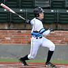 Enid's Hayden Priest knocks in two runs against Owasso Thursday March 2, 2017 at David Allen Ballpark. (Billy Hefton / Enid News & Eagle)