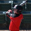 NOC Enid's Wesley O'Neill hits a homerun against Northern Iowa Area CC Monday March 12, 2018 at David Allen Memorial Ballpark. (Billy Hefton / Enid News & Eagle)