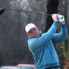 Keith Campbell tees off in the Enid 4-Ball tournament Saturday March 23, 2019 at Oakwood Country Club. (Billy Hefton / Enid News & Eagle)