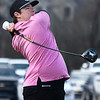 David Turner tees off in the Enid 4-Ball tournament Saturday March 23, 2019 at Oakwood Country Club. (Billy Hefton / Enid News & Eagle)