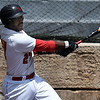 NOC Enid's E.J. Taylor hits a home run against Western CC Thursday May 3, 2018. (Billy Hefton / Enid News & Eagle)
