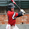 NOC Enid's Brendon Woelfle hits a 2 RBI single against Murray State during the Region 2 tournament Thursday May 9, 2019 at David Allen Memorial Ballpark. (Billy Hefton / Enid News & Eagle)