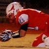 Chisholm's Brock Chance recovers an OCS Saints' fumble during the OSSAA Class 2A football playoffs at Longhorn Community Stadium Friday, Nov. 15, 2013. The Saints won 35-7. (Staff Photo by BONNIE VCULEK)