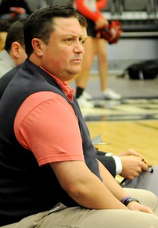 NOC Enid Jets' head coach Greg Shamburg (Staff Photo by BONNIE VCULEK)