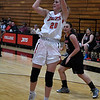NOC Enid's Andi Pierce puts a shot against Oklahoma Elite Tuesday November 14, 2017 at the NOC Mabee Center. (Billy Hefton / Enid News & Eagle)