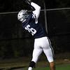 Enid's Johnny Villa grabs a touchdown pass against Broken Arrow Friday, November 6, 2020 at D. Bruce Selby Stadium. (Billy Hefton / Enid News & Eagle)