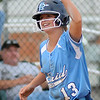 Enid Pacers' Kaitlin Bell (Staff Photo by BONNIE VCULEK)