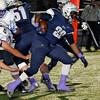 Enid's Devin Pratt gets loose on an eighty yard touchdown run against Stillwater Friday October 30, 2015 at D. Bruce Selby Stadium in Enid. (Billy Hefton / Enid News & Eagle)