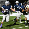 Enid's Kros Bay runs the ball against Midwest City Friday October 28, 2016 at D. Bruce Selby Stadium. (Billy Hefton / Enid News & Eagle)