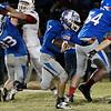 Waukomis' Phillip Busbee runs against Cherokee Friday October 14, 2016 at Waukomis High School. (Billy Hefton / Enid News & Eagle)