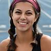 Enid's Genesis Carrillo jogs Wednesday October 17, 2018. (Billy Hefton / Enid News & Eagle)