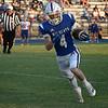 Covington-Douglas' Gavin Hooten carries the ball against Waukomis Friday, September 24, 2021 at Covington-Douglas High School. (Billy Hefton / Enid News & Eagle)