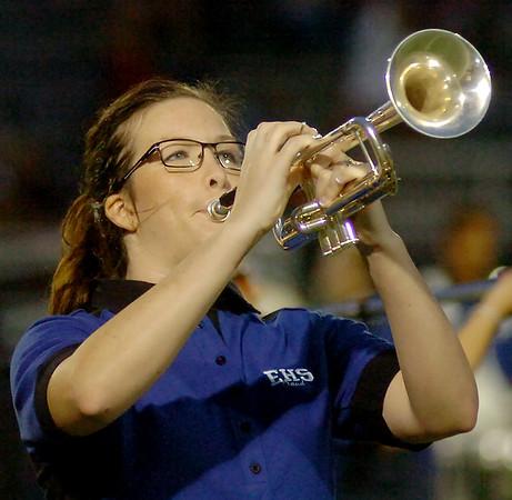 EHS Big Blue Band Queen (Staff Photo by BONNIE VCULEK)