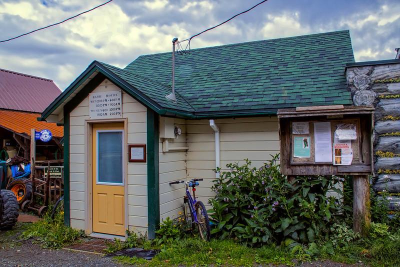 BEFORE - Public Bath House, Tenakee Spring, Alaska