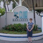 2015-01 Barbados Trip_0242 Anita in Front of The Club Barbados