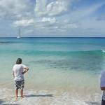 2015-01 Barbados Trip_0481-1 Daniel & Ron on the Beach