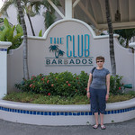2015-01 Barbados Trip_0244 Anita in Front of The Club Barbados