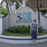 2015-01 Barbados Trip_0244 Anita in Front of The Club Barbados