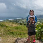 2015-01 Barbados Trip_0288 Daniel & Lindsey at Cherry Tree Hill