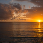 2015-01 Barbados Trip_0350 The Sunset from our Hotel Room Veranda