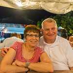 2015-01 Barbados Trip_0234 Ron & Anita at Oistens Fish Fry