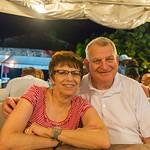 2015-01 Barbados Trip_0234 Ron & Anita at Oistens Fish Fry