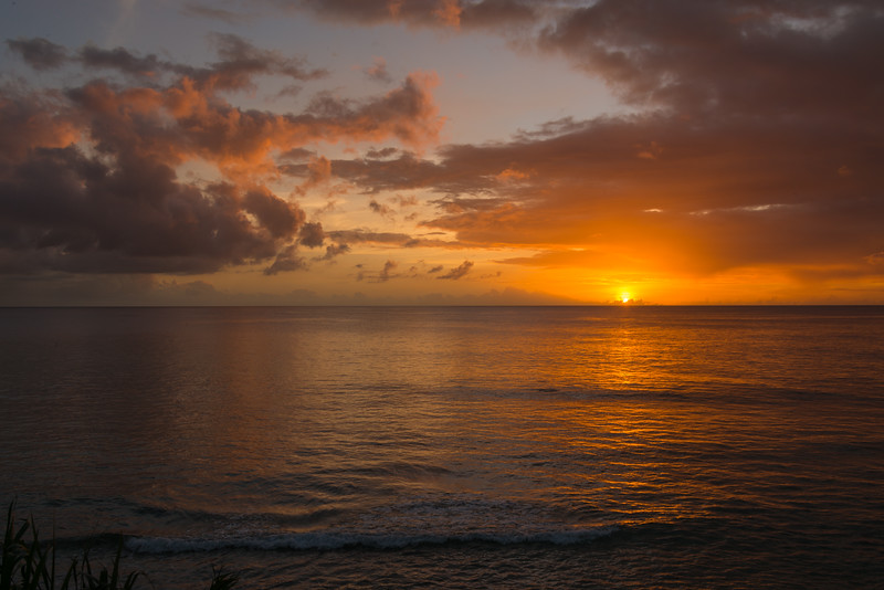 2015-01 Barbados Trip_0358 The Sunset from our Hotel Room Veranda