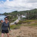 2015-01 Barbados Trip_0316 Lindsey at Bathsheba Beach