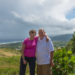 2015-01 Barbados Trip_0292 Ron & Anita at Cherry Tree Hill